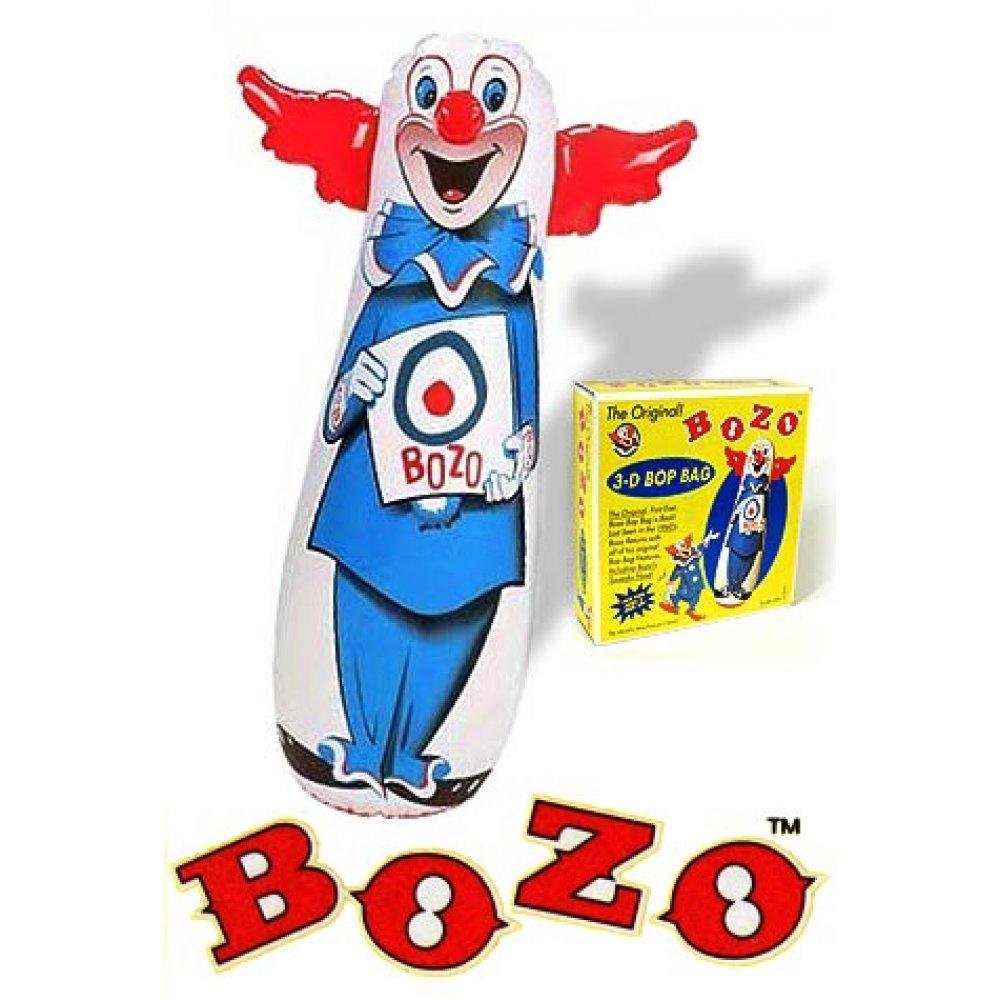 4 Bozo Bop Bag Original 46 Inch 1960