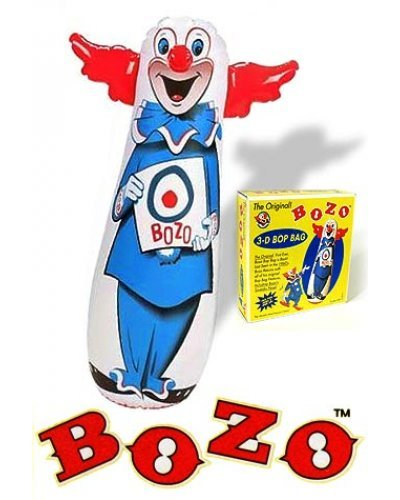 Bozo Big Bop Bag Original 46 inch 1960