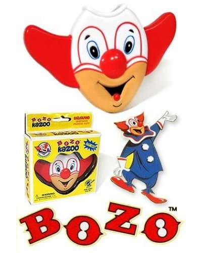 Bozo the Clown Kazoo with Magnet