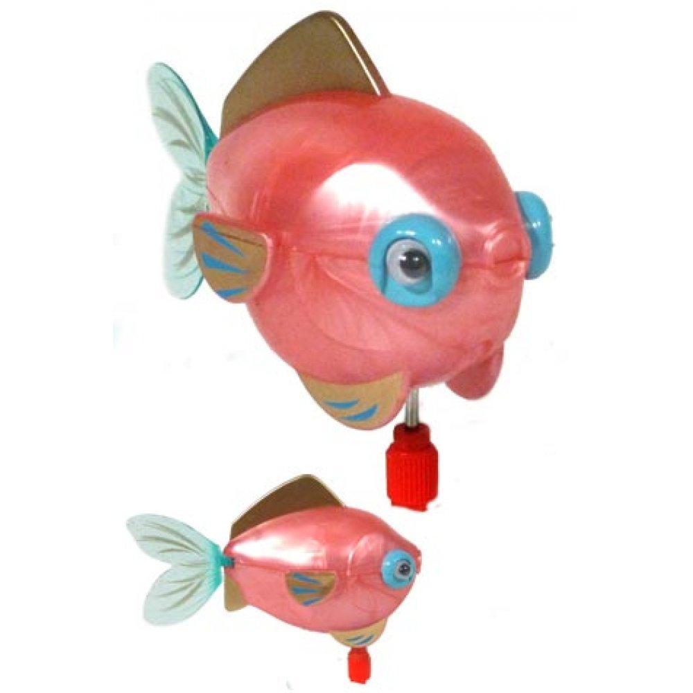 Gigi The Goldfish Pink Princess Swimming Wind Up Z