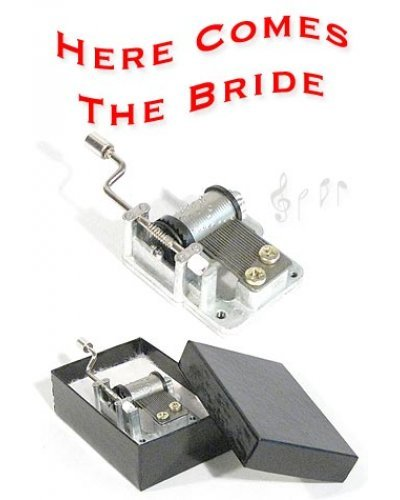 Here Comes the Bride Music Box