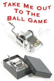 Take Me Out to the Ball Game Music Box
