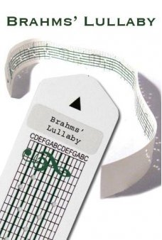 Brahms Lullaby Paper Strip for Music Box Kit