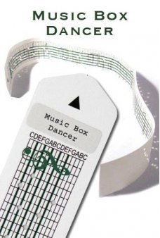 Music Box Dancer Punched Paper Strip