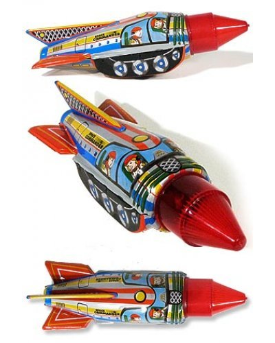 Sparking Space Commander Rocket
