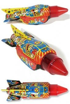 Sparking Space Fantasy Rocket 1960