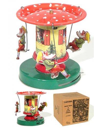 Snow White Seven Dwarfs Carousel