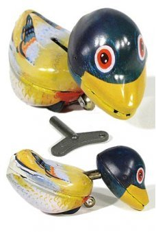 Crazy Duck the Original Tin Toy 1940