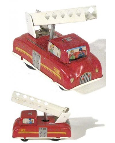 Fire Engine Tin Press n Go Series 2 of 3