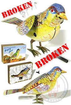 Singing Bird Amazing 1950 *** Broken
