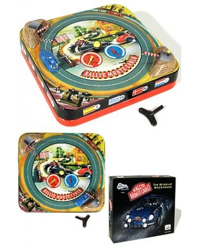 Monte Carlo Race Game Tin Wind Up