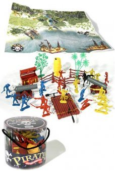 Pirates of the High Seas Playset with Case