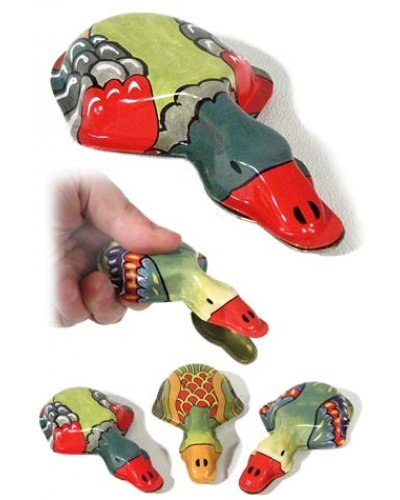 Deluxe Duck Clicker Tin Toy Noise Clicking