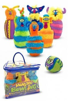 Monster Bowling Silly Soft Set