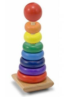 Rainbow Stacker Wooden Classic Toy