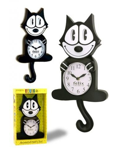 Felix the Cat Animated Wall Clock 1919