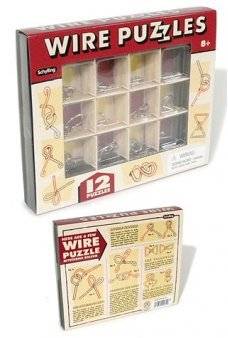 Wire Puzzles Vintage Variety Set of 12