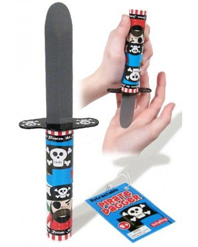 Pirate Dagger Trick Knife Tin Toy