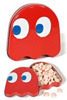 Pac Man Red Ghost Sours Tin 1980