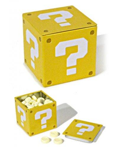 Super Mario Question Box Candy Tin