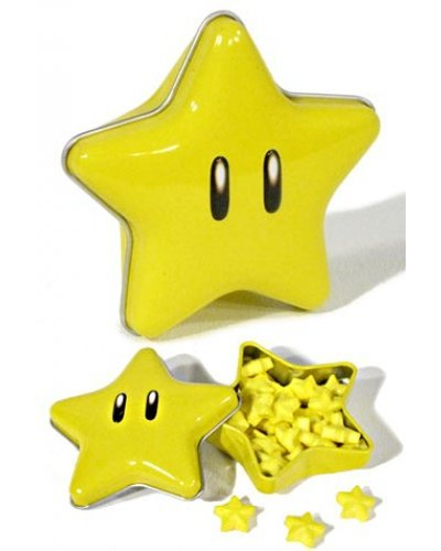 Super Mario Super Star Candy Tin