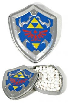 Zelda Link Hylian Shield Candy Tin