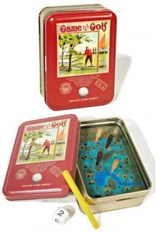 Vintage Golf Game Tin Series 1890