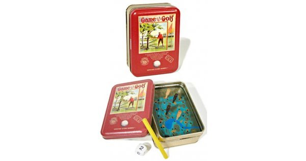 Vintage Golf Game : 9 Holes : Made In USA : Tin Series