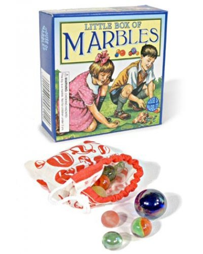 Little Box of Marbles Glass in Bag UK