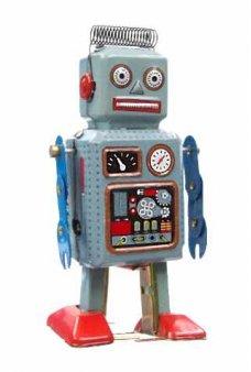 Mini Radiocon Robot Classic Tin Toy
