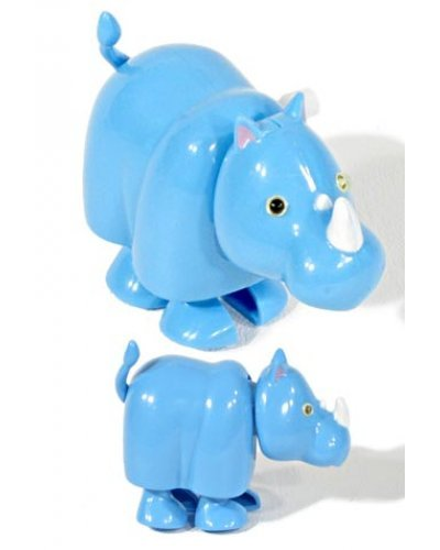 Benny the Blue Rhino African Wind Up