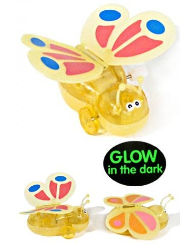 Yale Yellow Butterfly Glowing Wind Up