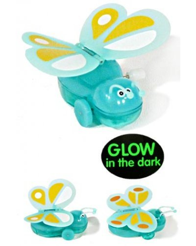 GW Green Butterfly Glowing Wind Up