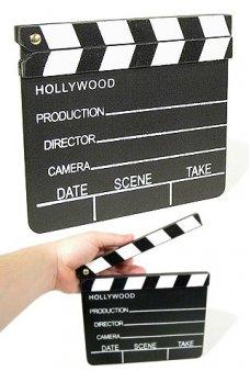 Hollywood Movie Studio Clapboard 1920