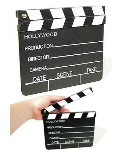 Hollywood Movie Studio Clapboard 1920