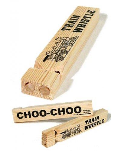 Wooden Train Whistle Choo Choo