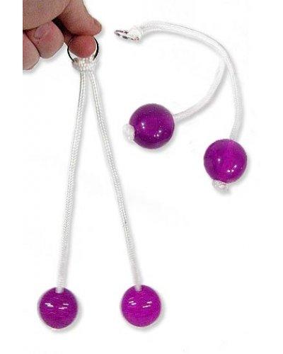 Clackers Purple Pendulum Toy 1970