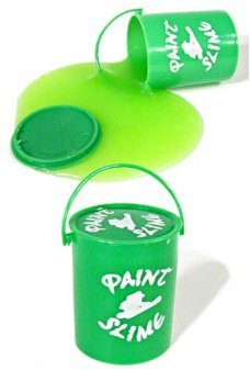 Green Bucket of Paint Slime Clean Toy