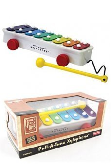 Pull A Tune Xylophone Fisher Price 1957