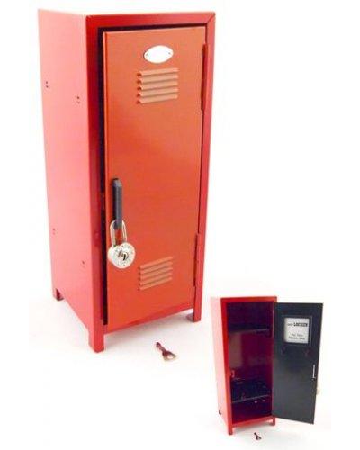 11 Inches Tall High School Locker Red Metal