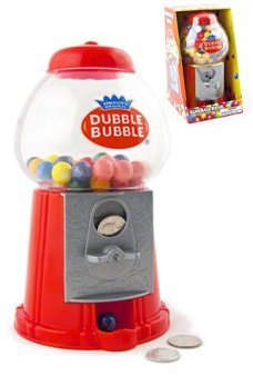 Gumball Bank Red Classic Dubble Bubble