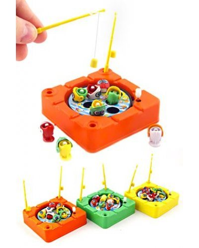 Mini Magnetic Fishing Game Wind Up