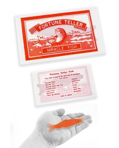 Fortune Teller Miracle Fish Curls Up Set of 5