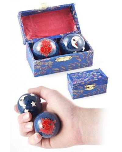 Blue Celestial Chimes Mystery Balls