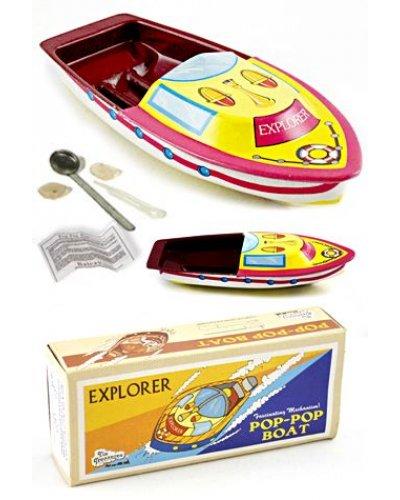 Explorer Pop Pop Tin Steam Boat