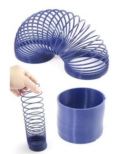 Mr Springy Blue Plastic Magic Spring