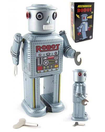 Mechanical Robot R-35 Linemar Windup