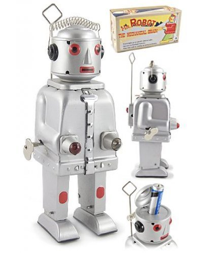Mr Robot Mechanical Brain Silver 1950