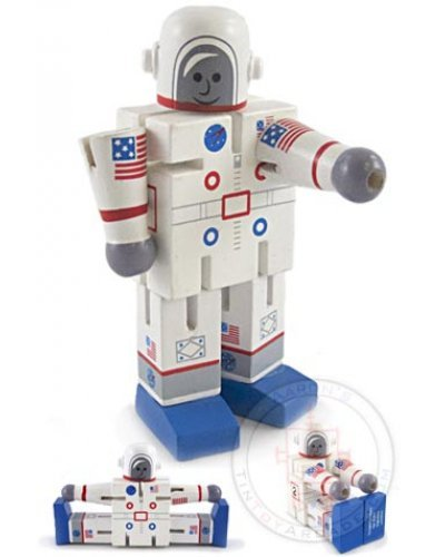 Astronaut Armstrong Wood Pose Mini