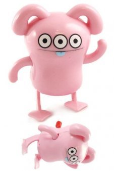 Peaco Pink Wind Up Swims UglyDoll